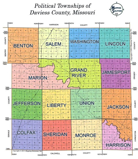Daviess County Townships